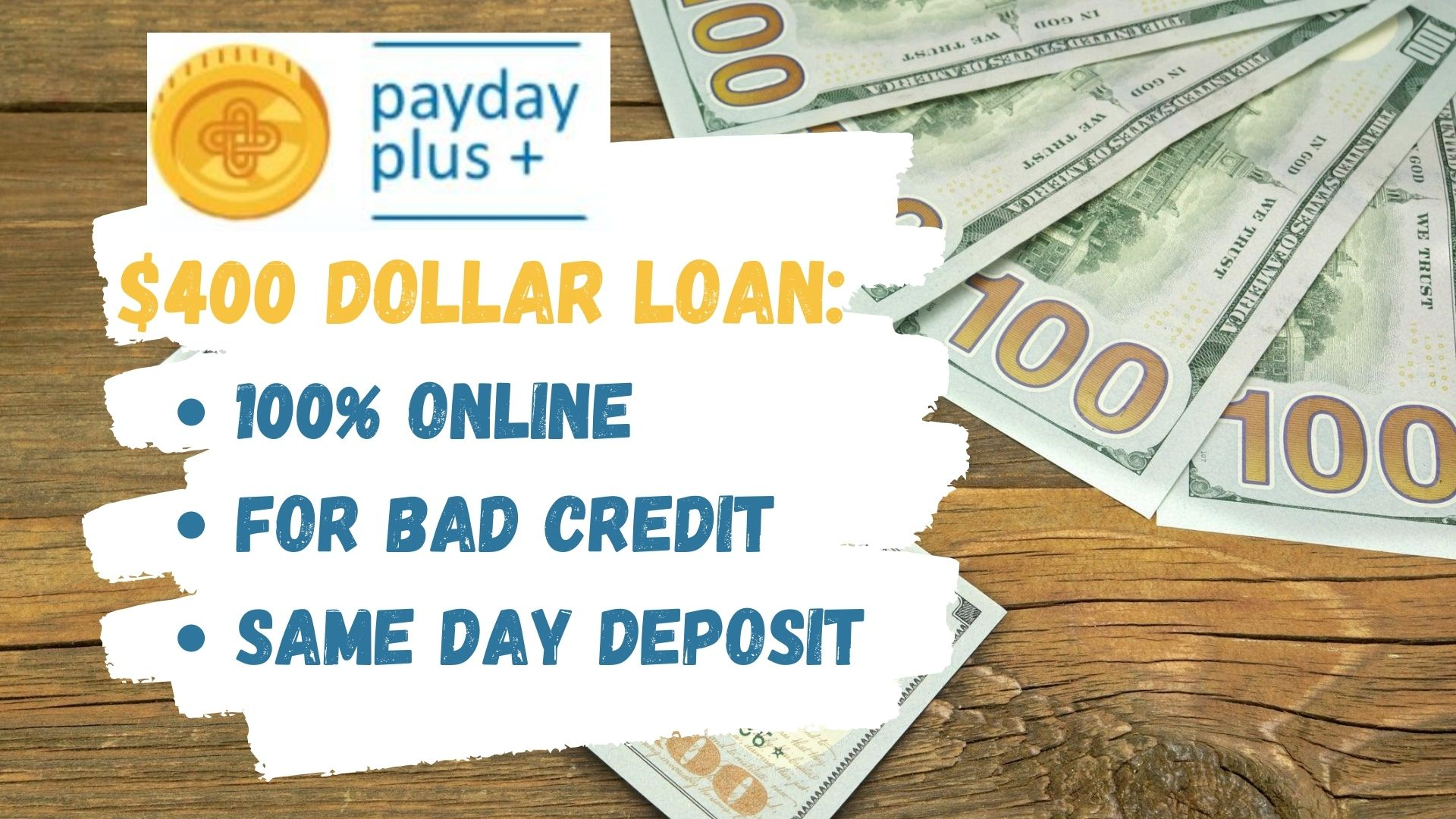 $400 Payday Loan