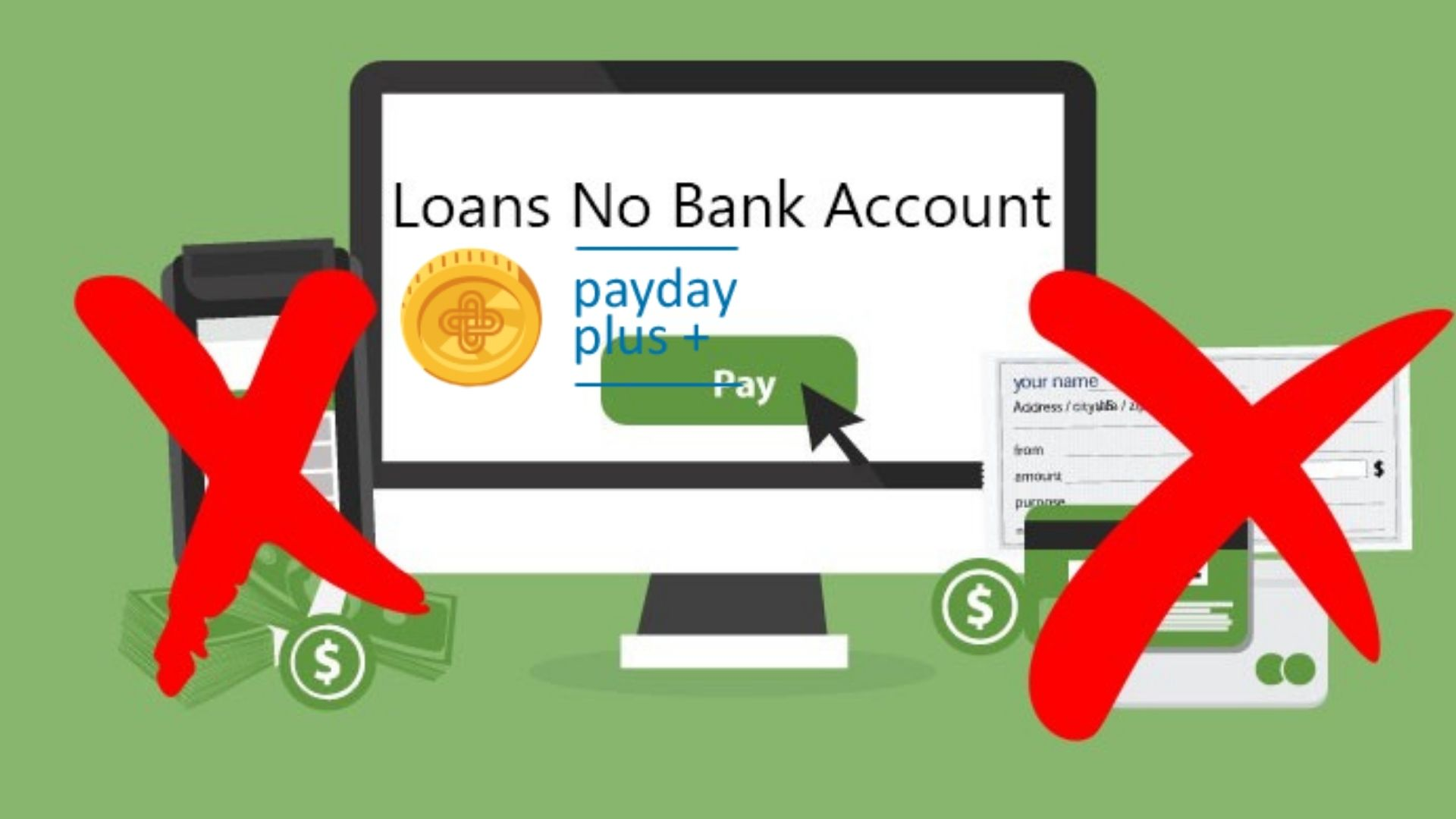 Payday Loan with no bank account