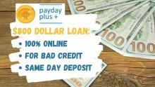 $800 Payday Loan